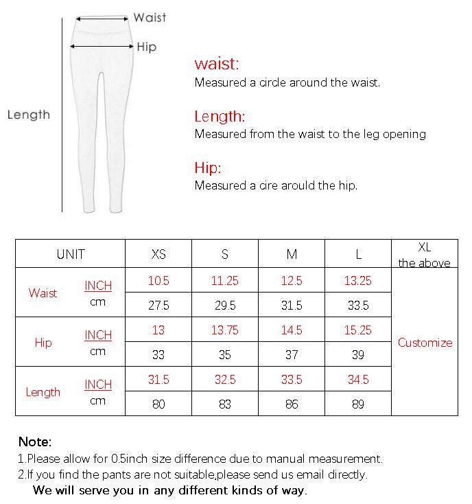 F010 BOTTOM SIZE CHART
