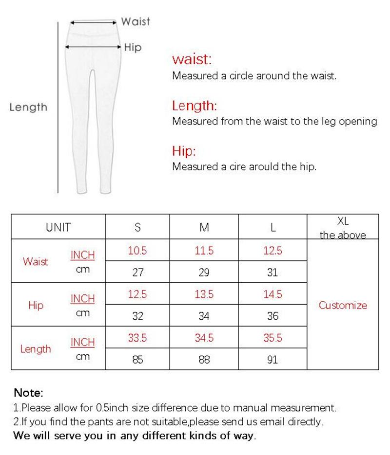 F011 BOTTOM SIZE CHART